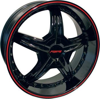 Forte Red Black 22
