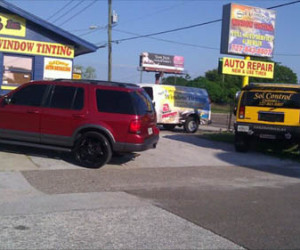 Auto tinting New Port Richey