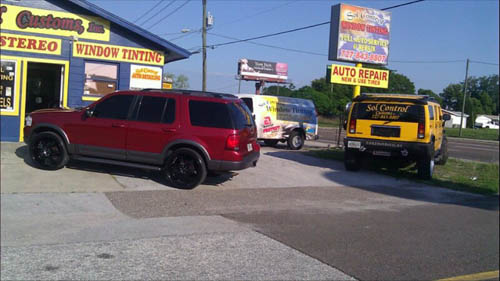 Auto tinting New Port Richey