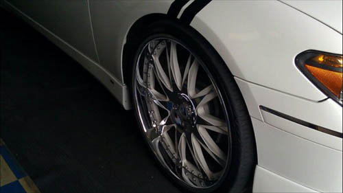 White Wheels