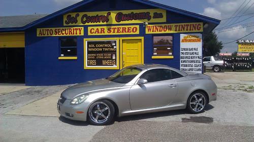 Lexus Chrome Wheels