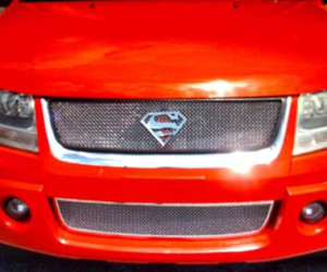 Superman Grille Installed