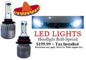 Led Lights Headlight Bulb Special
