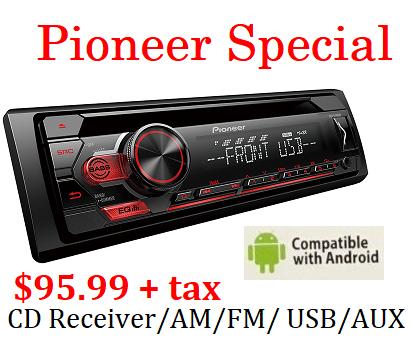 Pioneer Special