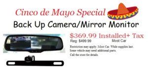 Back Up Camera / Mirror Monitor